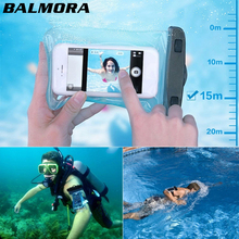 Buy BALMORA Portable Waterproof Mobile Phone Bag Strap Arm Belt Dry Pouch Cover iPhone X 8 7 6 plus Samsung Swimming Case for $2.99 in AliExpress store