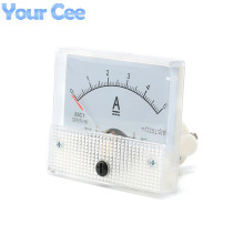 1 pc New 85c1 Current Monitoring 0~5A Analog DC AMP Panel Meter Class 2.5 Pointer Ampere Gauge