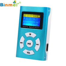 Adroit  USB 2.0/1.1 Mini  Rechargeable  MP3 Player LCD Screen Support 32GB Micro SD TF Card DEC5 drop shipping