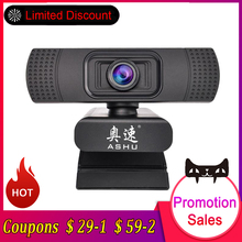 USB 2.0 Web Digitale Camera Webcam Full HD 1080 p Webcams met Microfoon Clip-on 2.0 Megapixel CMOS Camera webcam voor Computer(China)