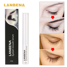 LANBENA Eyelash Growth Serum 7 Day Eyelash Enhancer Longer Fuller Thicker Lashes Eyelashes and Eyebrows Enhancer Eye Makeup
