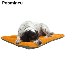 Petminru 5 Size High grade Soft Cozy Pet Dog Warm Mat Kennel Cage Pad Bed Pet Sleeping Cushion 6 Colors