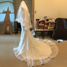 ZGS427 vestido de noiva Cheap Luxury Mermaid Wedding Dress Gowns Sexy V Neck Vintage Custom Made Lace Wedding Dresses 2017