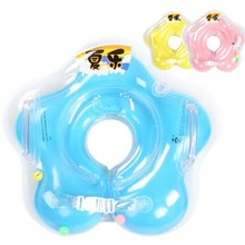 2017 Neck Safety Float Swimming Baby Accessories Swim Neck Ring Baby Swimming Infant Circle For Bathing Inflatable
