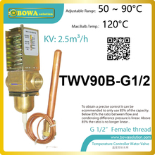 Temperature operated water valves can be installed cooling water in cooling systems and hot water or steam in heating systems(China)