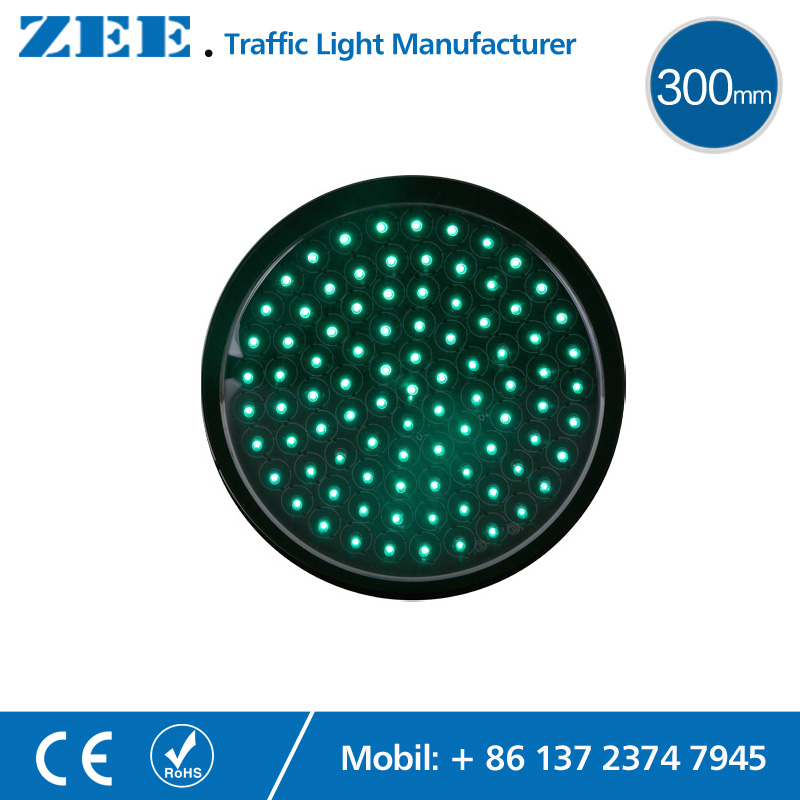 12 inches 300mm Full Red Round LED Traffic Signal Modules Replaced LED Traffic Lamp 220V 12V 24V Traffic Lights<br>