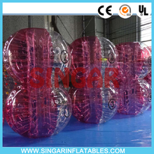 Free shipping 0.7mm TPU 1.5m diameter giant inflatable ball,zorb ballz,bubble football for adults