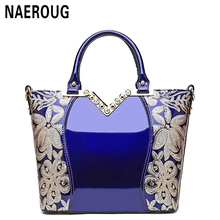 2017 New Patent Leather Women Handbag Brand Shoulder Bag Luxury Fashion Tote Clutch Sequins Diamond Messenger Bag Bolsa Feminina