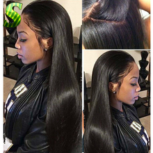 7A Silk Top Full Lace Wigs Glueless Full Lace Human Hair Wigs For Black Women Brazilian Virgin Hair Silk Base Top Lace Front Wig
