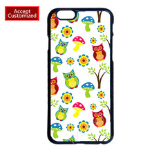Owl Sticker Print Case Cover for LG G2 G3 G4 iPhone 4 4S 5 5S 5C 6 6S 7 Plus iPod Touch 4 5 6