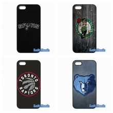 For Apple iPhone 4 4S 5 5S 5C SE 6 6S 7 Plus 4.7 5.5 iPod Touch 4 5 6 NBA teams Case Cover
