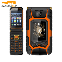 Dual Screen land flip Mosthink Rover X9 1500mAh Dual SIM One-key Dial And Call Mobile Phone One Touch Screen Russian Keyboard