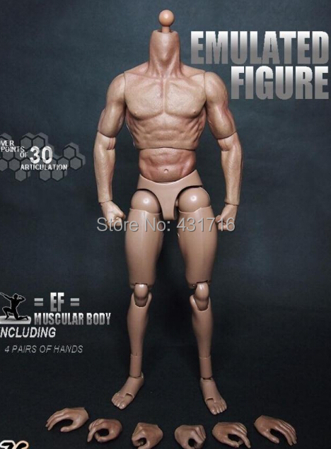1:6 1/6 12 Muscle Soldier Story Action Figure nude body for strong man<br><br>Aliexpress