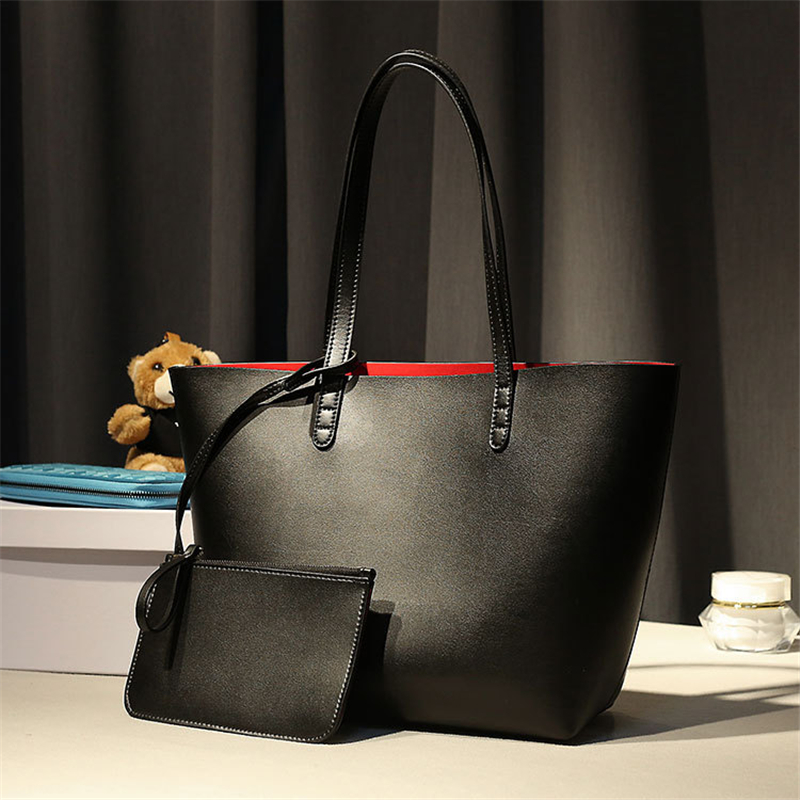Simple Genuine Leather Casual Tote Lady Designer Handbags High quality Women Bag Large Capacity Composite Bag<br><br>Aliexpress