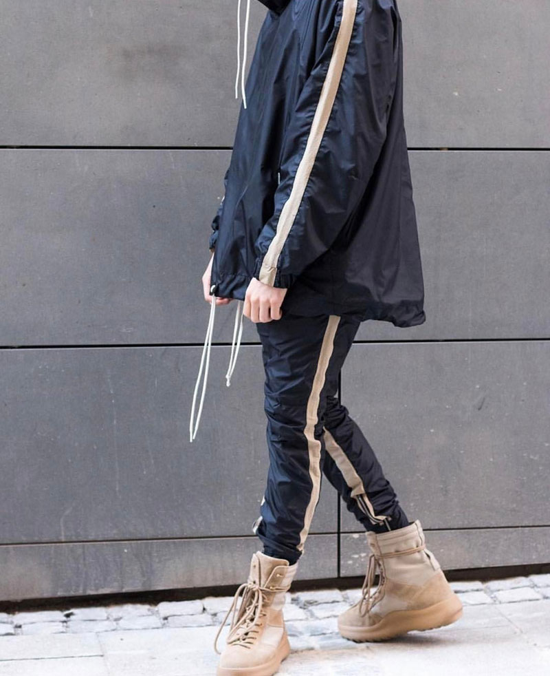 Zipped Ankle Track Pants 1