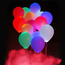 Party balloon new colorful LED lights balloon wedding party celebration bar show Birthday Balloon