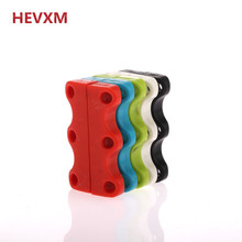 HEVXM New Fashion Novelty Strong Magnetic Shoelaces For Sneakers Shoes Buckles Closure No Tie Shoelace Plastic 2 Pieces / pack