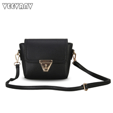 VEEVANV 2017 New Brands Women Messenge Bags Female Leather Shoulder Bags Crossbody Bags Ladies Handbags Small Clutch Purses Mini