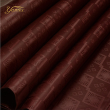 YANTEX-10 Yards Brown Color Austria Quality Bazin Riche Fabric(Similar To Getzner)Jacquard Guinea Brocade Fabric Shadda Perfume(China)