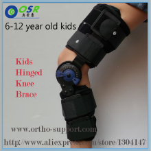Kids Post Op Hinged Knee Braces ROM Medical Osteoarthritic Knee Support For Children With Lock For Walking Laying And Sports