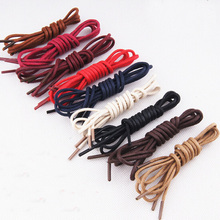 Buy 2 Get 1 free,Colored Men Lady Round Waxed Lace Shoelace Leather Shoe Boot 75cm(China)