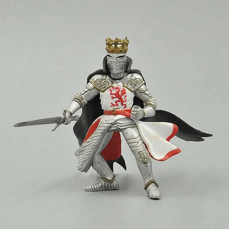 European medieval armor King 9 cm child collection toys action figure model<br><br>Aliexpress