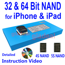 32 64 Bit NAND Flash IC Chip Programmer Tool Fix Repair Motherboard HDD Chip Serial Number SN Model for iPhone iPad