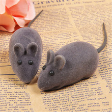 Soft Cat Dog Toy Interactive Mouse Gatos Pelucia Funny Animal Pets Supplies Stuffed Sound Toy Hamser Product For Kittens QQM2169