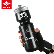 Buy Santic Bicycle Water Bottle Portable Leak-Proof Cycling Water Bottle MTB Road Bike Sport Drink Kettle 500ML for $7.94 in AliExpress store