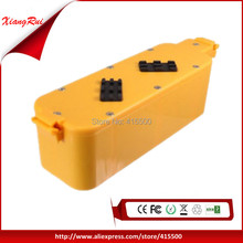 New 14.4V 2.0Ah Replacement Vacuum Rechargeable Battery Packs for iRobot Roomba 400 4905 25247006 4232 4130 4150 4170 4188