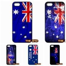 Retro Vintage Australia New Zealand Flag Phone Case Cover For Apple iPhone 4 4S 5 5C SE 6 6S Plus 4.7 5.5 iPod Touch 4 5 6