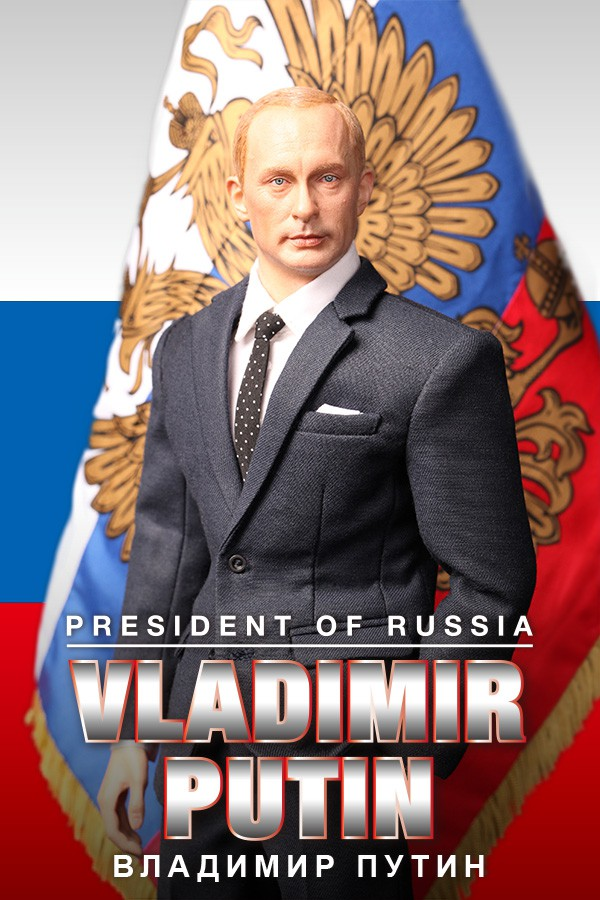 """1/6 scale figure doll Russian President Vladimir Putin 12"""" action figure doll Collectible figure Plastic model toys"""