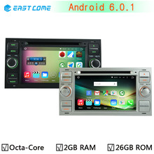 1024X600 Octa Core 2GB RAM Android 6.0 Car DVD Player for Ford Galaxy Fusion C-MAX S-MAX C S MAX Focus Mondeo GPS Radio Stereo