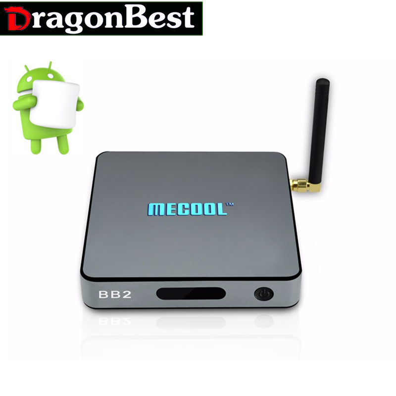 5pc MECOOL BB2 Amlogic S912 TV BOX 2G16G 64Bits Octa core KODI17.0 Full Loaded Android 6.0 TV BOX Bluetooth4.0 2.4G/5G WiFi OTA<br><br>Aliexpress