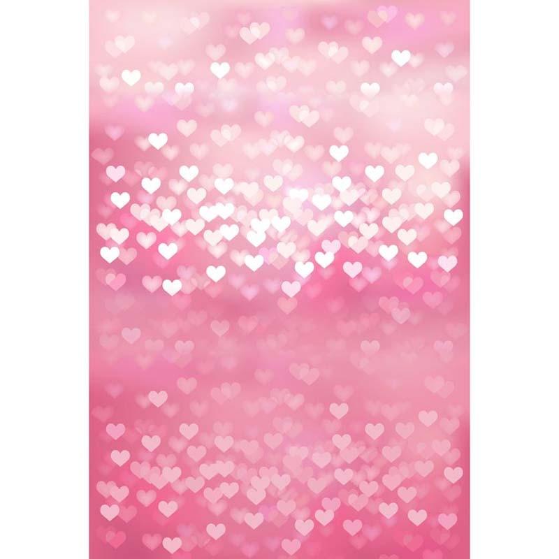 Pink Love Hearts photography studio background High-grade Vinyl cloth Computer printed wedding backdrop<br><br>Aliexpress