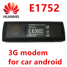 huawei 3g modem lan e1752 e1752c 3g dongle adapter for android car dvd module same e1750 pk huawei e173 e1750(China)