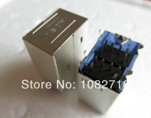 10pcs / lot Double PS-2 Connector 6 Pin Female for Keyboard & Mouse Sockets for Computer , free shipping