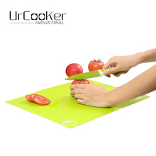 1 Set of 4 Pcs Flexible Cutting Mat Cutting Boards Color coded chopping mats Kitchen Tools(China)