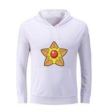 iDzn Pokemon Gyarados Lapras Pidgeot Staryu weedle Pidgey Psyduck Mr. Mime Printed Women's Hoodies Girl's Sweatshirts Tops S-3XL
