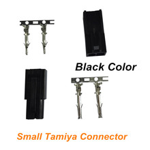 1 pair Mini Tamiya Connector Small Tamiya plug with 2 Pins Lipo Battery Connector for RC Battery Charger RC Car Free Shipping
