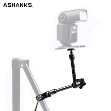 "ASHANKS 11 Inch Magic Arm 11"" Arm for DSLR Rig Camera to Monitor LED Lamp Photography Accessories for Fotografica Video Lighting(China)"
