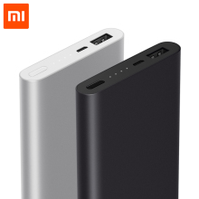10000mAh Xiaomi Mi Power Bank 2 External Battery Portable Charger Supports 18W Fast Charging For Android and IOS Mobile Phones