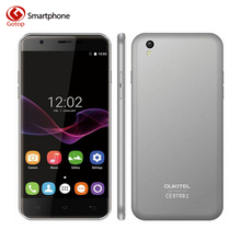 Original Oukitel U7 Max 5.5 Inch Smartphone Android 6.0 MT6580A Quad-Core Cell Phone 1GB RAM+8GB ROM 8.0MP 3G WCDMA Mobile Phone