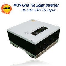 Grid connected inverter 4000W Single-phase Generation System Grid Tie Inverter with Pure sine wave for On-Grid Power System(China)