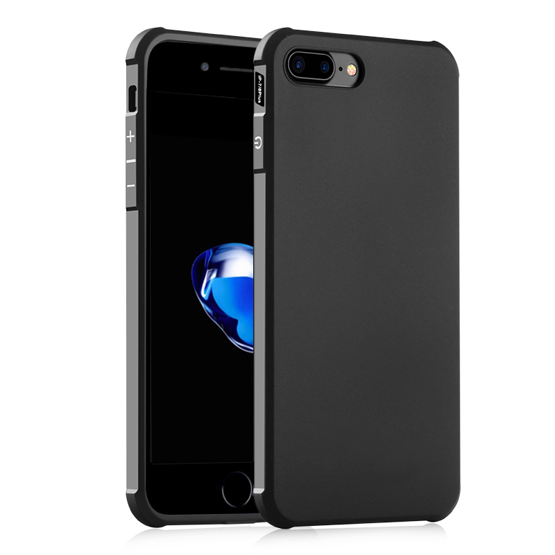 Luxury Anti-Knock Silicone Case iPhone 7 Plus & iPhone 8 Plus Case TPU High 8 Phone Cover iPhone 8 Plus