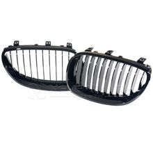 For BMW M5 E60 E61 5 Series 2003-2010 Gloss Black Kidney Grills Front Grille Car Styling Accessory D15(China)
