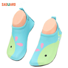 Summer Children Water Shoes Breathable Quick Dry Swimming Fins Aqua Socks Wetsuit Prevent Scratche Warming Slip-on Beach Schuhe(China)