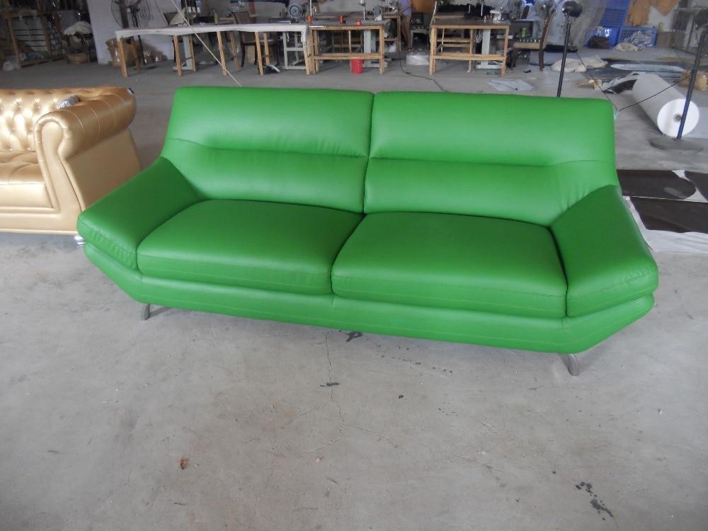 Modern Sofa Set Genuine Leather Living Room