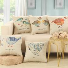 45X45cm Cushion Home Sweet  Cotton Linen Cushion Sofa Bedroom Decorative Pillow with High Quality