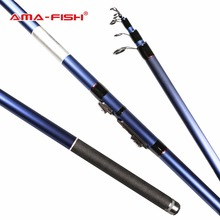 AMA-Fish ARES IM6 River Float Telescopic Fishing Rod 3.9m Carbon Fishing Rods 6 Sections Bolognese Rod ML Action 5-25g  Rod